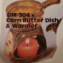 duncan 304 corn butter dish