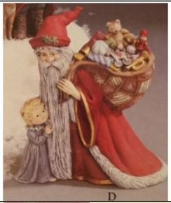 Gare 1296 Antique Medieval Santa