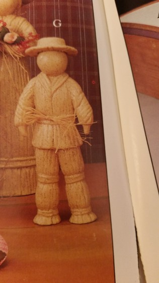 Gare 1387 Male Straw Doll