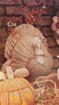 Gare 1418 Cornhusk Turkey