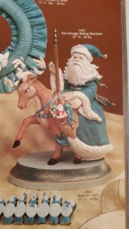 Gare 1421 & 1422 Kris Kringle Riding Reindeer