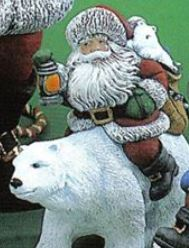 Gare 3395 Santa on Polar Bear