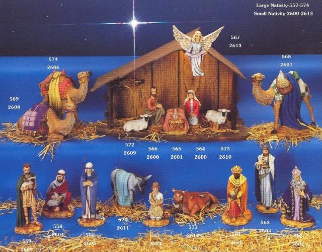 Holland large nativity
