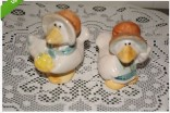 Kimple 0866 Ducks with bonnets salt & pepper shakers