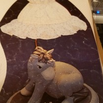 Kimple 0880 stuffed unicorn (lamp)