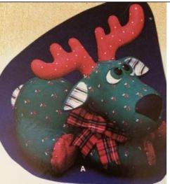Kimple 0889 stuffed reindeer