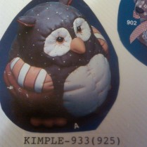 Kimple 0922 stuffes (soft) owl