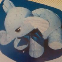 Kimple 0931 stuffed elephant
