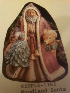 Kimple 1783 woodland santa
