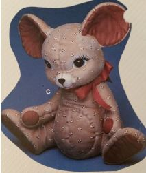 kimple 898 stuffed mouse