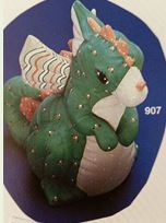 Kimple 907 stuffed dragon