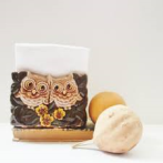 owl napkin holder