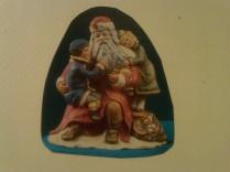 Provincial 0855 talking to santa