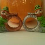 Scioto 0181 Leprechaun napkin rings CC
