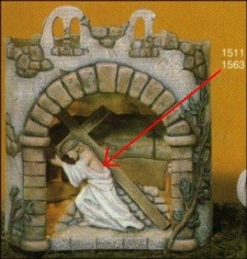 Scioto 1563 & 1511 Easter Scene with Shadowbox
