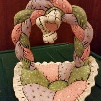 soft basket with bunny handle CC