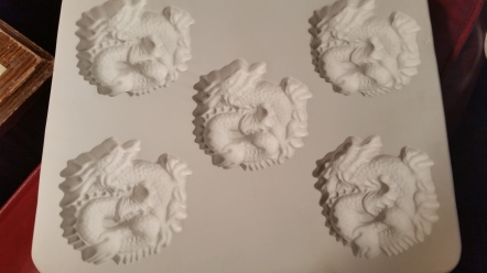 TM Porcelain dragon mold