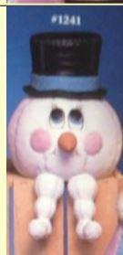 VIP 1241 snowman puffie (1235 body)