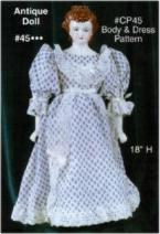 Alberta (Jamar Mallory) 0045 antique doll