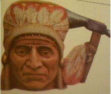 Byron 0842 Indian Toby mug