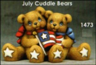 Clay Magic 1473 uly cuddle bears