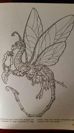 dragon drawing fairy dragon