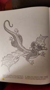 dragon drawing hydra