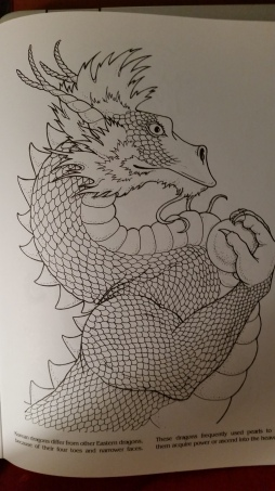 dragon drawing Korean
