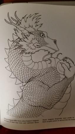 dragon drawing Korean