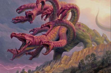 dragon hydra (multiple heads)