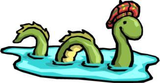 dragon Loch Ness Monster clipart