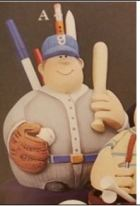 Gare 1349 Roly-Poly Baseball Player