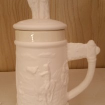 Hershey 0153 & 153B Indian stein bisque