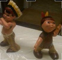 holland 1228 & 1229 Indian boy & girl