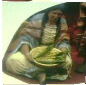 Kimple 1953 & 1954 Female Indian sitting fir scene