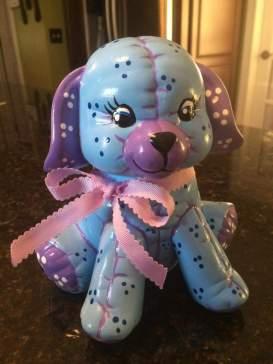 Kimple 904 stuffed dog (student)