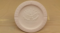 Presidential Seal ashtray