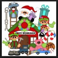 clipart Santas Workshop