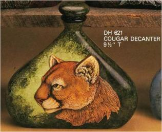 Doc Holliday 0621 Indian Decanter Cougar