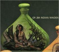 Doc Holliday (Goldrush) 0264 decanter Indian Maiden large