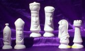 Duncan chess set bisque 4500