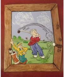 Golfer Plaque CC