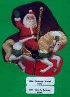 Christmas Carousel Horse