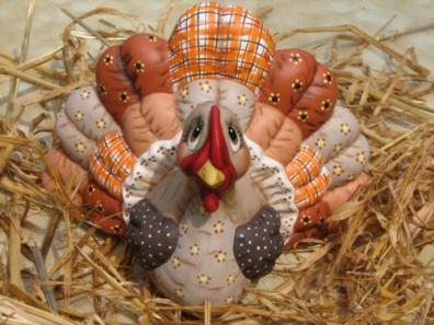 Dona 0283 stuffed (soft) turkey 2