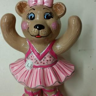 Holland 2488 ballerina bear standing CC