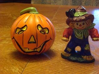 Jack-O-Lantern & Scarecrow