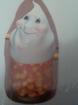 Kimple 0826 ghost jar lid cover