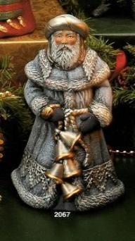 Kimple 2067 Ukranian Old World Santa (with bells)