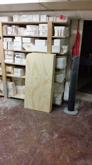 new shelf for mugs & steins