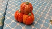 pumpkin stack candy dish CC